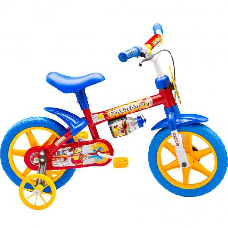 Bicicleta Infantil Nathor Masculina Fireman Aro 12 - shopping oi BH