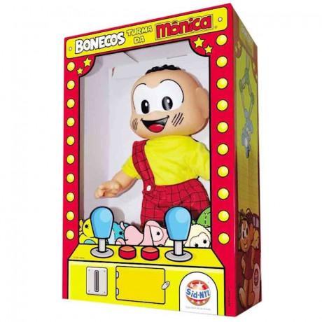 Boneco Cascão Tradicional Turma da Mônica Original Sidnyl - Shopping Oi BH