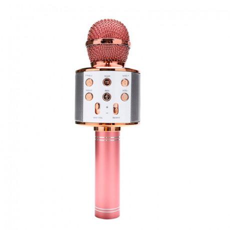 Microfone Bluetooth Karaokê Sem Fio Recarregável - shopping oi bh