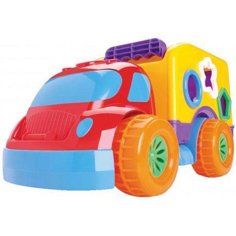Brinquedo Educativo Pedagogico Carrinho Robustus Divertoys - Shopping OI BH