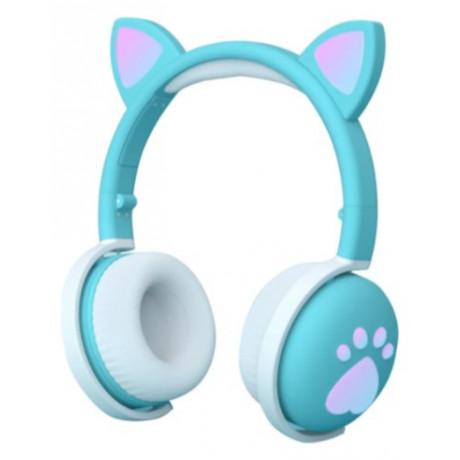 Fone De Ouvido S Fio Bk1 C/ Orelha De Gato Bluetooth  - shopping oi BH
