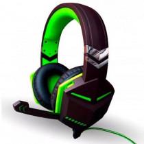 Fone Gamer Headset Verde Microfone Kp-433 - shopping oi bh