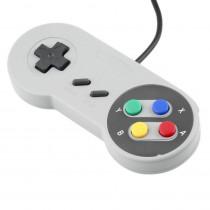 Controle Super Nintendo Snes Joystick Usb Emulador -Shopping OI BH