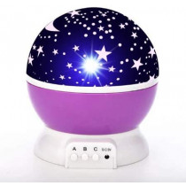 Projetor Luminária Abajur Estrelas Galaxy 360º Star Master - Shopping Oi BH