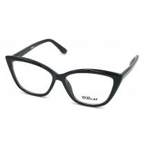 Armação Óculos Grau Obest Feminino Gatinho Acetato 7171- shopping oi bh