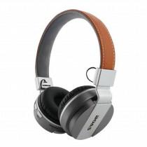 Fone de Ouvido Bluetooth Em Couro YW-998BT - shopping oi BH