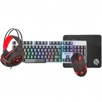 Combo Gamer 4 em 1 (Teclado, Headset, Mouse Pad, Mouse) - Hayom - Shopping OI BH