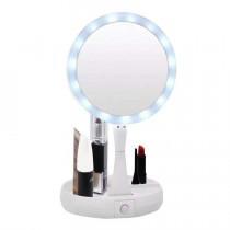 Espelho Portátil Articulado Com Led My Fold Away Mirror -  Shopping Oi BH