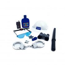 Kit Policial Infantil Police Detective p/ Brincar - Shopping OI BH