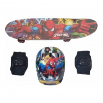 Skate Infantil Homem Aranha com Kit Proteção - Shopping OI BH