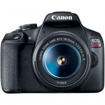 Camera Canon EOS Rebel T7 - Preto- Shopping OI BH