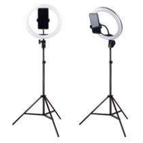 Ring light 12 Polegadas, tripé 2m, Suporte para celular - Shopping Oi BH