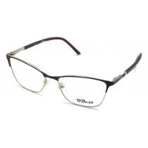 Armação Óculos Sem Grau Obest Feminino Gatinho Metal B146 - shopping oi BH