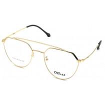 Armação Óculos Grau Obest Feminino Metal Grande Fino B236 - SHOPPING OI BH