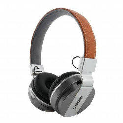 Fone de Ouvido Bluetooth Em Couro YW-998BT