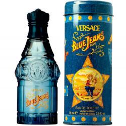 Perfume Versace Blue Jeans Masculino Eau De Toilette 75ml