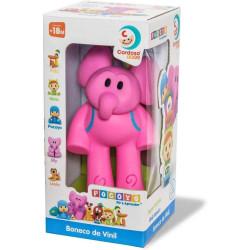 Boneco Pocoyo de Vinil  (Elly) - Cardoso Toys