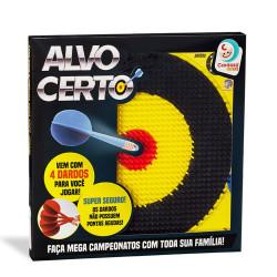 Jogo De Dardos Infantil Alvo Certo - Cardoso Toys