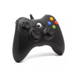 Controle 2 Em 1 Xbox 360 Com Fio Controle X360 E Pc Com Fio