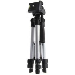 Tripé telescópico P/ câmera ou celular – Tripod 3110 – Ajuste 1m