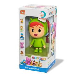 Boneco Pocoyo de Vinil  (Nina) - Cardoso Toys