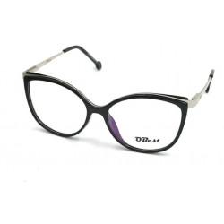 Armação Óculos Sem Grau Obest Feminino Redondo Acetato B176
