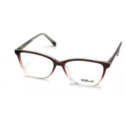 Armação Oculos Grau Obest Feminino Quadrado Acetato B043