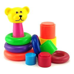 Kit Brinquedo Conjunto Didático Baby Toys Set Pica Pau