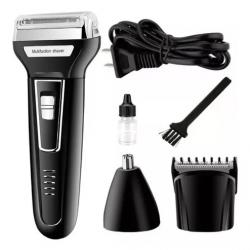 Máquina De Barbear Kemei KM-6558 3 Em 1