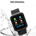 Relógio Smartwatch P80 Com 2 Pulseiras (aço/silicone) pretas - Shopping Oi BH