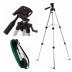 Kit Tripe para celular ou máquina fotográfica 1,20 metros Com Bolsa Para Transporte MTG101 + Mini Tripé Base Flexível- Shopping Oi BH